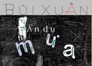 Tập thơ Ẩn dụ mưa (NXB Hội Nhà văn, 2007) – Tác giả: Bùi Xuân