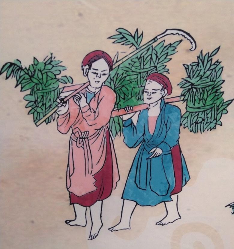 Tục hái thảo dược làm thuốc. Người xưa cho rằng giờ ngọ (11h-13h) dương khí thịnh nhất, là thời khắc mà dược tính trong các loại cây cỏ đạt tới mức cao nhất nên họ thường đi hái cây thuốc vào giờ này, mang về băm nhỏ, phơi khô để làm thuốc chữa bệnh cho cả năm. Loài thảo dược phổ biến nhất được hái là ngải cứu, đinh lăng, ích mẫu, tía tô, bồ công anh, sen, vòng, vối…