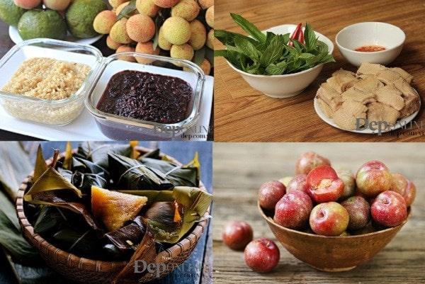 Những món ăn cho ngày Tết Đoan ngọ (Nguồn: Đẹp/Vietnam+)
