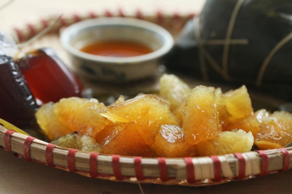 Bánh Tro (bánh Gio) là món ăn không thể thiếu trong Tết Đoan ngọ (ảnh Internet)