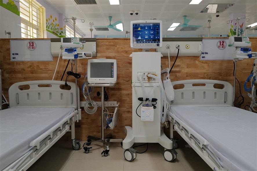 Sun Group đã tài trợ và trực tiếp thi công, lắp đặt các trang thiết bị y tế hiện đại cho các BVĐK nhiều địa phương trên cả nước