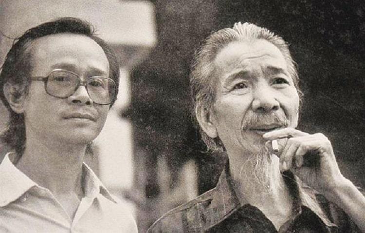 Nhạc sĩ Văn Cao và nhạc sĩ Trịnh Công Sơn đã có một tình tri âm tri kỷ thật đẹp.