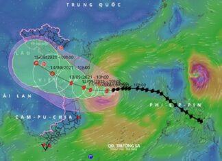 Chuyên gia nói về sự tương tác của bão Côn Sơn và Chanthu