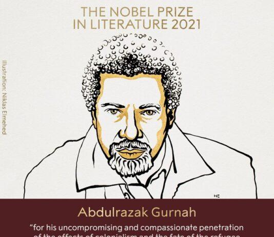 Giải Nobel Văn học năm 2021 thuộc về nhà văn người Tanzania Abdulrazak Gurnah